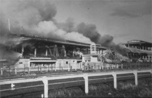 williamstown-racecourse-burning